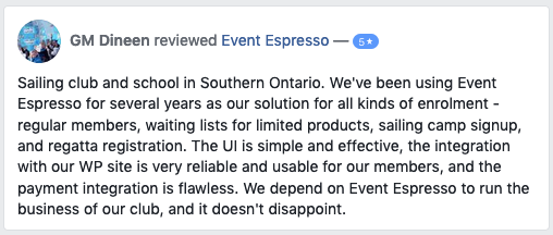 We've been using Event Espresso for several years for our enrollment.