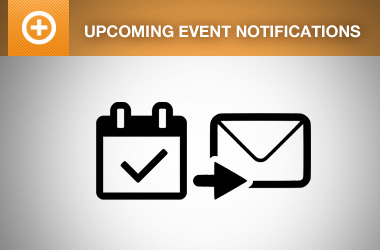 Automated Upcoming Event Notifications add-on for Event Espresso 4