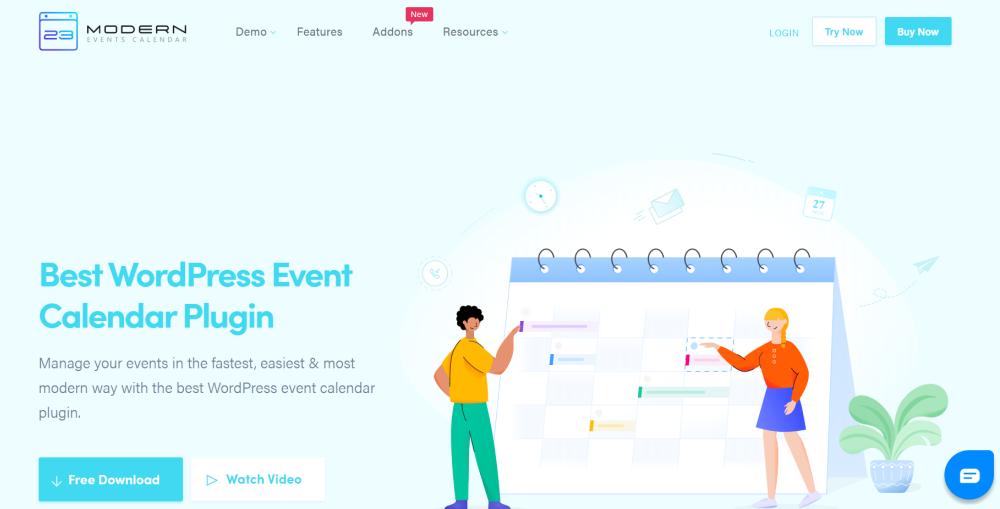 banner image of Modern Events Calendar