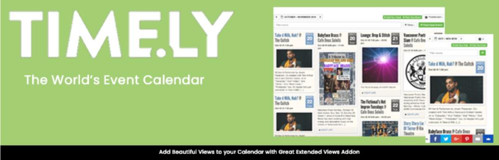 banner image Timely Event Calendar