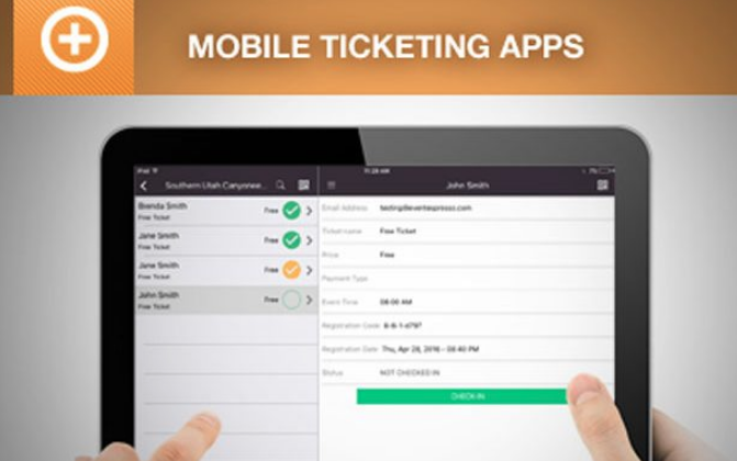 mobile ticketing apps